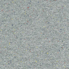 French Terry Speckle in Grey by Robert Kaufman House Designers  for Robert Kaufman