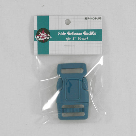 "Side Release Buckle (for 1"" Straps) - Blue"