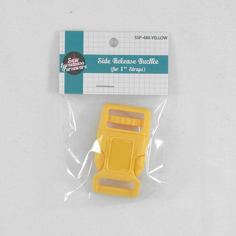 "Side Release Buckle (for 1"" Straps) - Yellow"