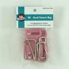 Ansel Camera Bag Kit - Pink from Sew Sweetness Purseware by Sew Sweetness for Sew Sweetness Purseware
