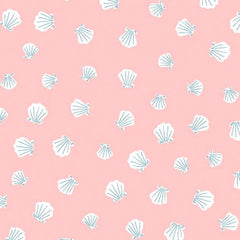 Seas The Day Seashells in Nectar from Seas The Day by Paula & Waffle for Dear Stella