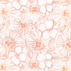 Cactus Bloom in Peach from Honey Bee by Dear Stella House Designers  for Dear Stella