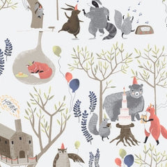 Foxtail Forest Treetop Party in Multi from Rae Ritchie MVPs by Rae Ritchie for Dear Stella