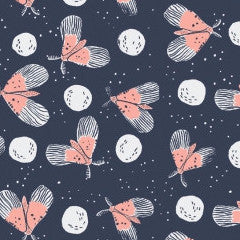 Moon Garden Flying Moths in Night from Rae Ritchie MVPs by Rae Ritchie for Dear Stella