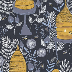 Honey Bee in Navy from Honey Bee by Rae Ritchie for Dear Stella
