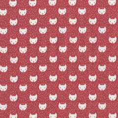 Cats in Punch from Dress Me For The Playground by Wee Gallery for Dear Stella