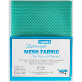 Lightweight Mesh Fabric in Turquoise