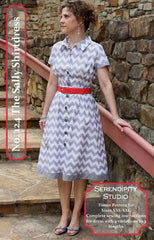 The Sally Shirtdress – Printed Apparel Pattern by Serendipity Studio