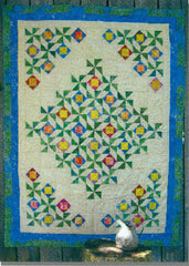 Scrappy Pinwheel Flowers - PDF Quilt Pattern by Cottage Quilt Designs