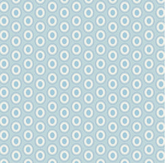 Oval Elements in Powder Blue by AGF Studio