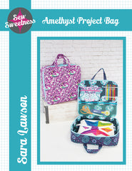 Amethyst Project Bag - Printed Bag Pattern from Sew Sweetness Purseware by Sew Sweetness for Sew Sweetness Purseware