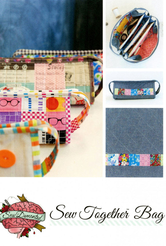 Sew Together Bag - PDF Accessory Pattern