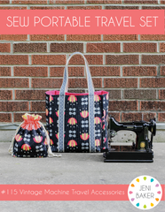 Sew Portable Travel Set - PDF Accessory Pattern from Dreamin' Vintage by Jeni Baker for Art Gallery