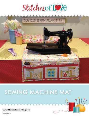 Sewing Machine Mat - PDF Quilt Pattern