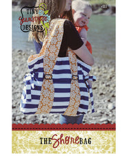 The Shore Bag - PDF Accessory Pattern by Tiny Seamstress Designs