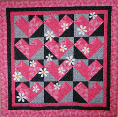 Simply Hearts Quilt - PDF Quilt Pattern by Cottage Quilt Designs