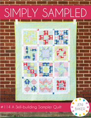 Simply Sampled - PDF Quilt Pattern from Dreamin' Vintage by Jeni Baker for Art Gallery