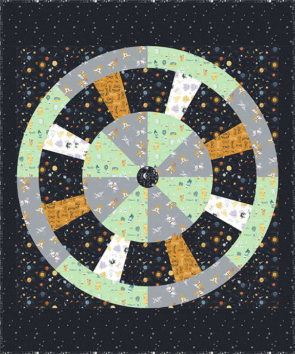 Space Station Quilt - FREE PDF Pattern