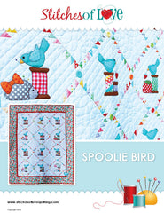 Spoolie Bird - PDF Quilt Pattern by Stitches of Love