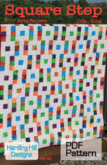 Square Step - PDF Quilt Pattern by Harding Hill Designs