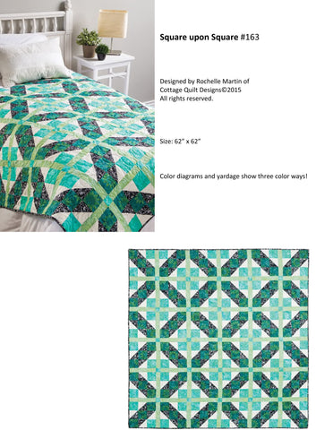 Square Upon Square - PDF Quilt Pattern