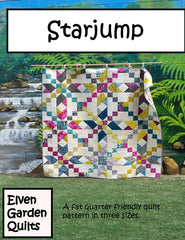 Starjump - PDF Quilt Pattern by The Elven Garden