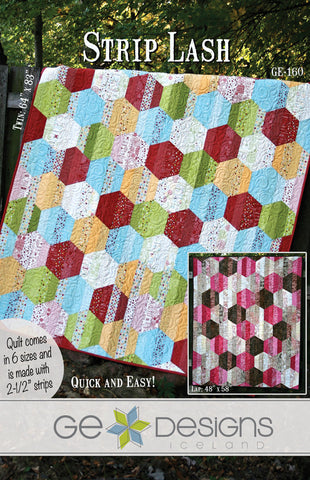 Strip Lash - PDF Quilt Pattern
