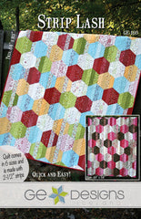 Strip Lash - PDF Quilt Pattern by GE Designs