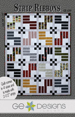 Strip Ribbons - PDF Quilt Pattern by GE Designs