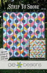 Strip To Shore - PDF Quilt Pattern by GE Designs