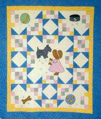 Sue and Scotty - PDF Quilt Pattern by Cottage Quilt Designs