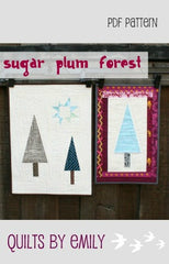 Sugar Plum Forest Mini - PDF Quilt Pattern by Quilts By Emily