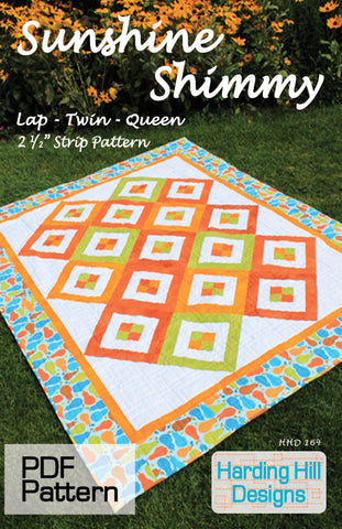 Sunshine Shimmy - PDF Quilt Pattern
