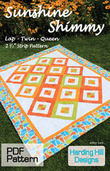 Sunshine Shimmy - PDF Quilt Pattern by Harding Hill Designs