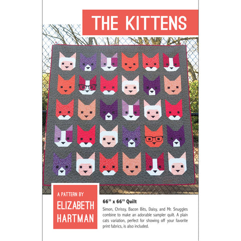 The Kittens - Paper Quilt Pattern