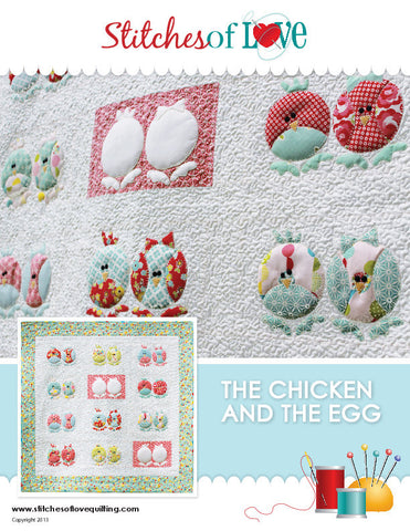 The Chicken and The Egg - PDF Quilt Pattern