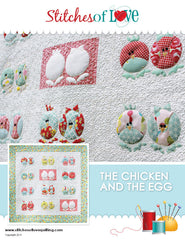 The Chicken and The Egg - PDF Quilt Pattern by Stitches of Love