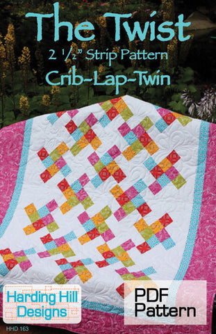 The Twist - PDF Quilt Pattern