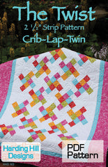 The Twist - PDF Quilt Pattern by Harding Hill Designs