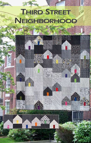 Third Street Neighborhood Pdf Quilt Pattern From Color