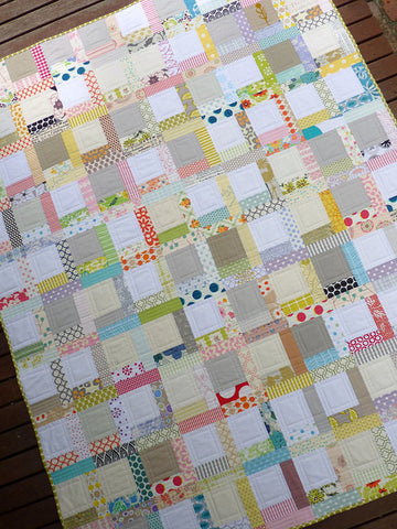 Red Pepper Quilts - Tiffany Lap Quilt - Printed Quilt Pattern