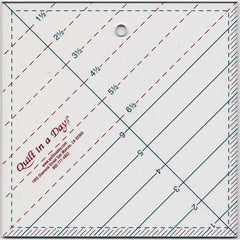 Triangle Square Up Ruler 6 1/2in from Notions by Jaybird Quilts for Quilt In A Day