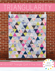 Triangularity - PDF Quilt Pattern from Nordika by Jeni Baker for Lucky Spool