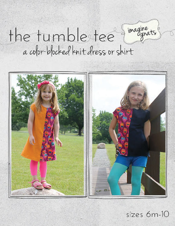 The Tumble Tee - PDF Pattern