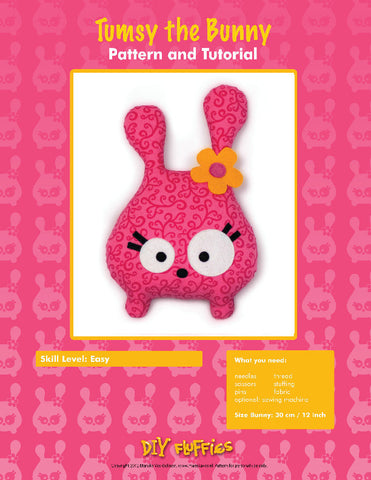 Tumsy the Bunny - PDF Accessory Pattern