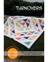 Turnovers - PDF Quilt Pattern by Freckled Whimsy