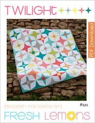 Twilight - Paper Quilt Pattern by Fresh Lemons Quilts