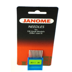 DB Needle for 1600P-DB & 1600P-DBX 10/pack Box of 6 - size 9 (767807106) for Janome