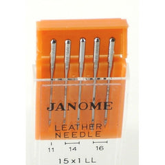 Leather / Assortment / 5 per package (990600000) for Janome