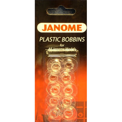Carded Empty Bobbins (10/card) (200122647) for Janome